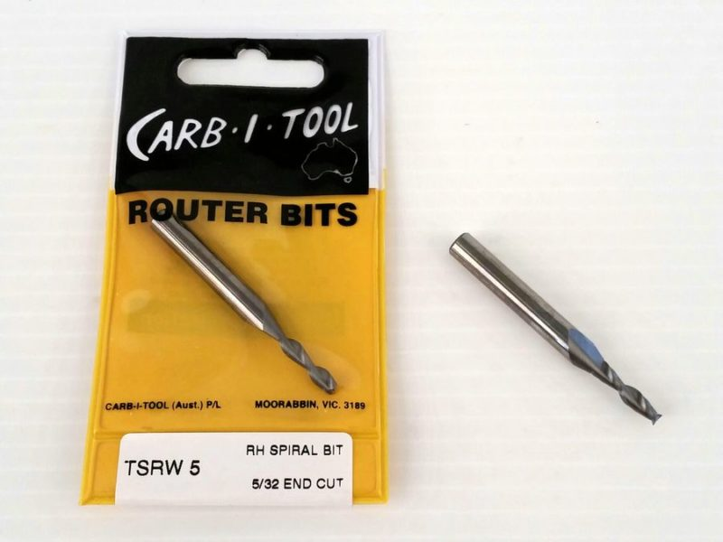 spiral cutter TSRW5 5/32