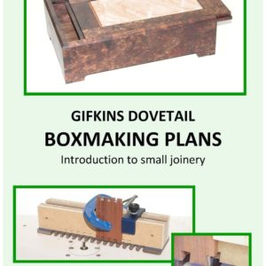 Introduction to small joinery Plan book #1