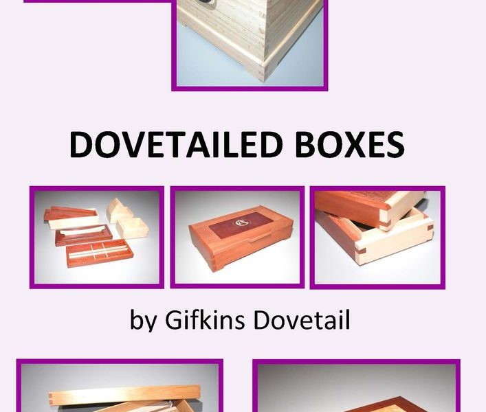 Dovetailed boxes book