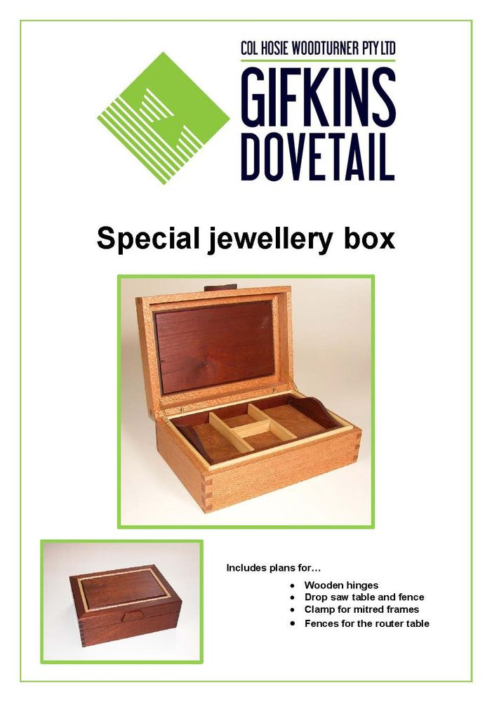 Special jewellery box plan