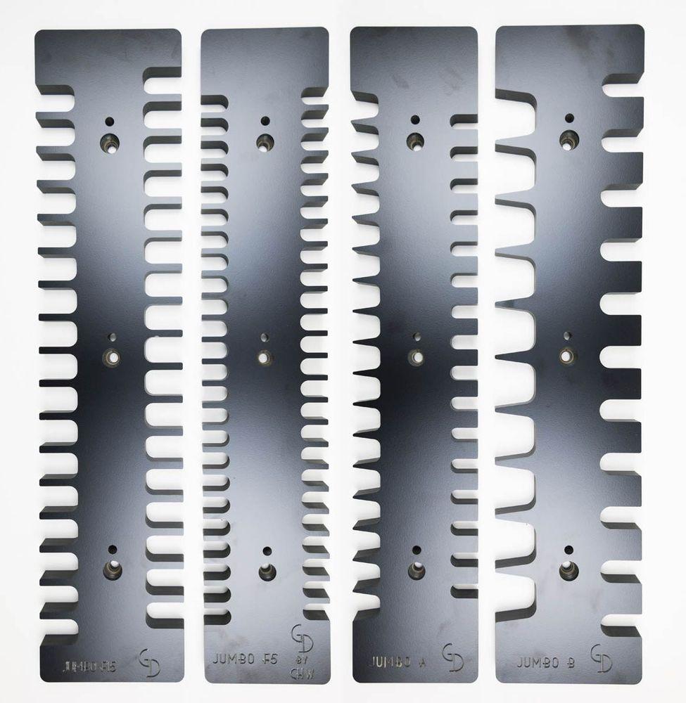 Finger and Dovetail Jig Templates - Jumbo Premium Value Pack